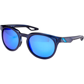 100% Campo Lunettes, polished translucent blue | mirror